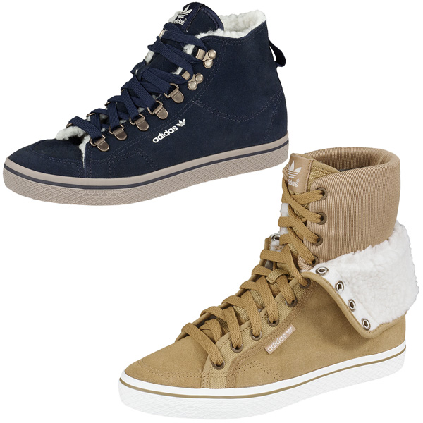 Winter-Shoe-Adidas-Honey-Hi-Hook-Womens-Collegiate-Boots-High-Top-Sneaker
