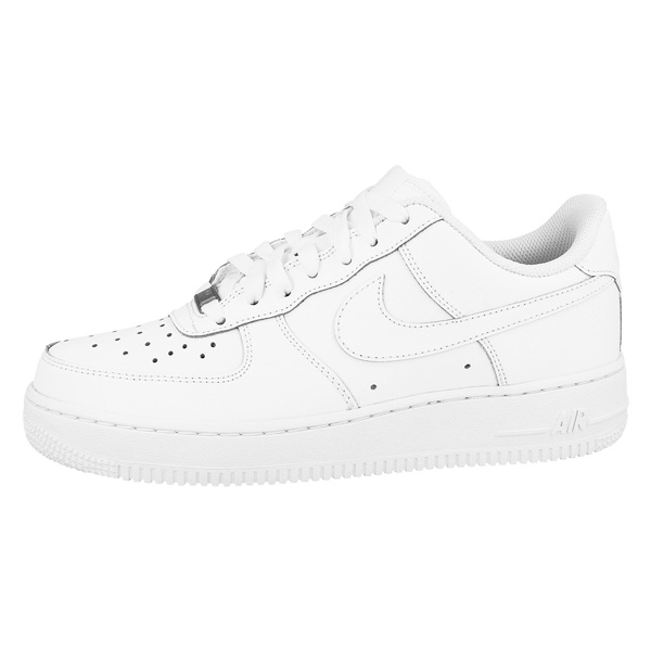 Nike-Air-Force-1-Low-GS-Shoes-White-Trainers-314192-117-Unisex