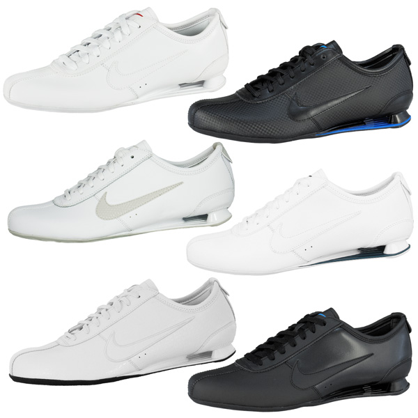 NIKE-SHOX-RIVALRY-SCHUHE-LEATHER-SNEAKER-DIVERSE-FARBEN-RIVAL-NZ-TURBO-GT-R4