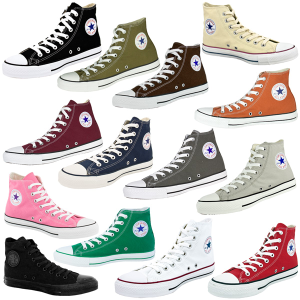Converse-Chuck-Taylor-All-Star-Hi-Shoes-Sneaker-Basic-Chucks-Classics