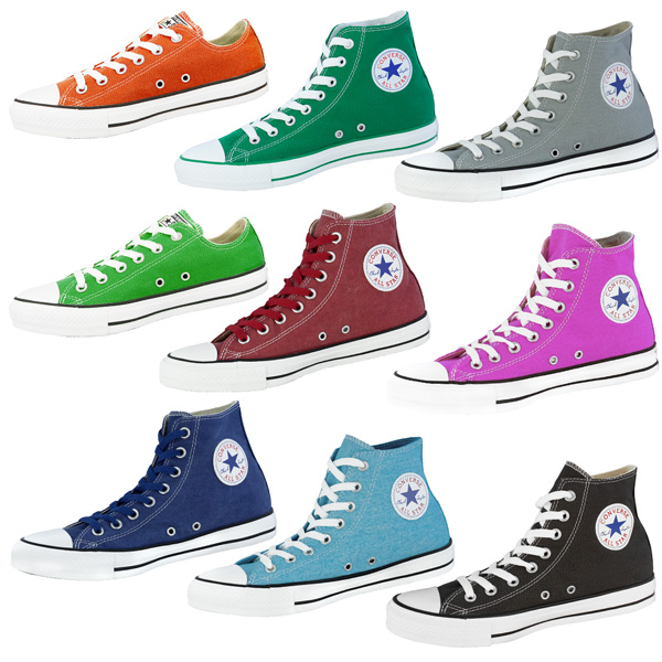 Trainers-Converse-Chuck-Taylor-All-Star-Shoes-Hi-Ox-Chucks-Classic-Cool-Colours