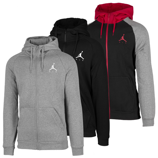 Nike Jordan Jumpman Air Fleece Full Zip Hoodie Kapuzenjacke Sport Jacke 939998