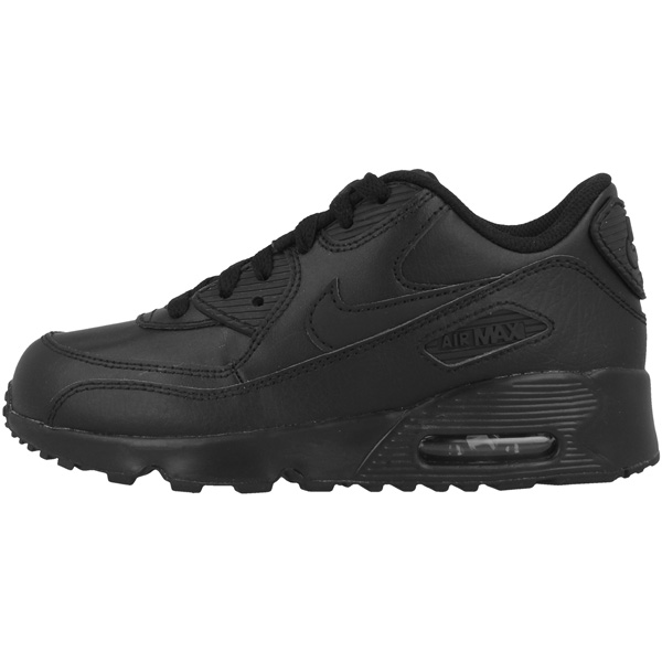 Brillant Nike Air Max 90 Leather Ps Enfants Chaussures Sneaker Black 833414-001 Command Tavas-afficher Le Titre D'origine Soulager Le Rhumatisme