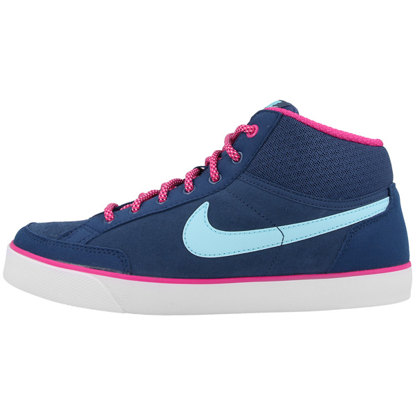 NIKE-CAPRI-3-Mid-GS-Women-Scarpe-LEATHER-TEXTILE-Retro-Sneaker-Flash-Flyclave