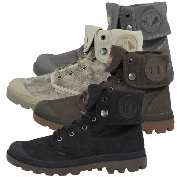 Palladium Pallabrouse Baggy Wax Boots Hi Schuhe High Top Sneaker Stiefel 75534