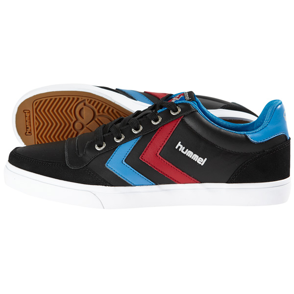 HUMMEL SLIMMER STADIL LOW TOP SNEAKER LEATHER SCHUHE HANDBALL SPORT FREIZEIT