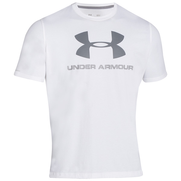 UNDER-ARMOUR-CHARGED-COTTON-SPORTSTYLE-LOGO-T-SHIRT-SPORT-FREIZEIT-FITNESS-TEE